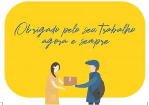 Ação criada por publicitário de Minas homenageia carteiros