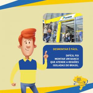 Read more about the article Correios não licitarão exclusividade do Banco Postal