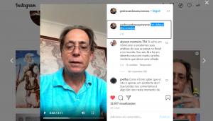 Ator Pedro Cardoso publica depoimento em apoio aos Correios