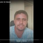 Vereador de Sabará grava mensagem em agradecimento à ADCAP Minas