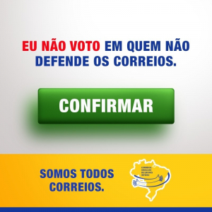55 candidatos em MG que apoiam as causas dos Correios foram eleitos!