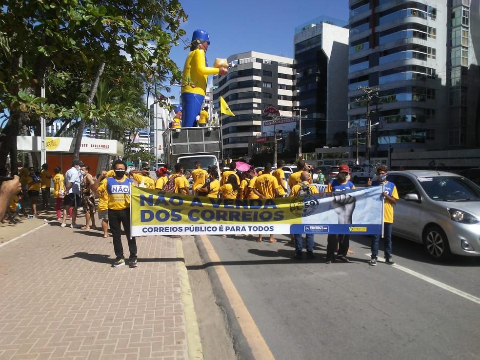 You are currently viewing Alagoas recebe outdoors e faz ato contra a privatização