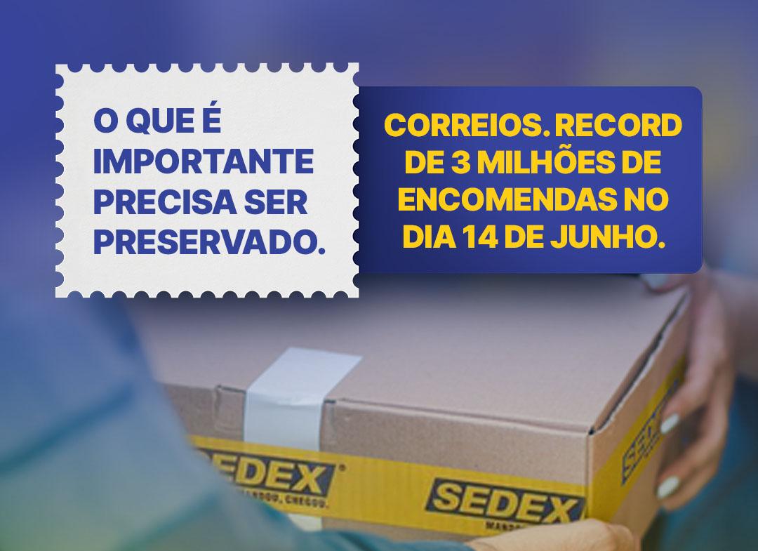Read more about the article Novo recorde de encomendas dos Correios